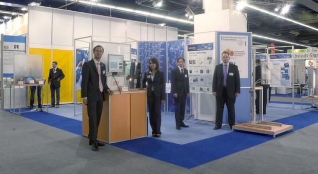 Messestand Uni Erlangen 1 Achema 2009