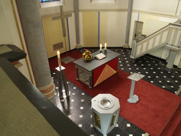 Kirche Haan 1 Altarraum
