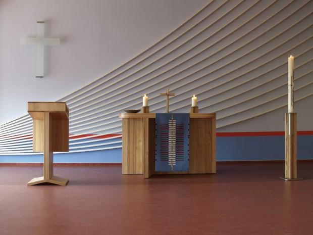 Matthäus Saal 1 Altarbereich