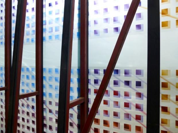 Glasgestaltung-Aufbau