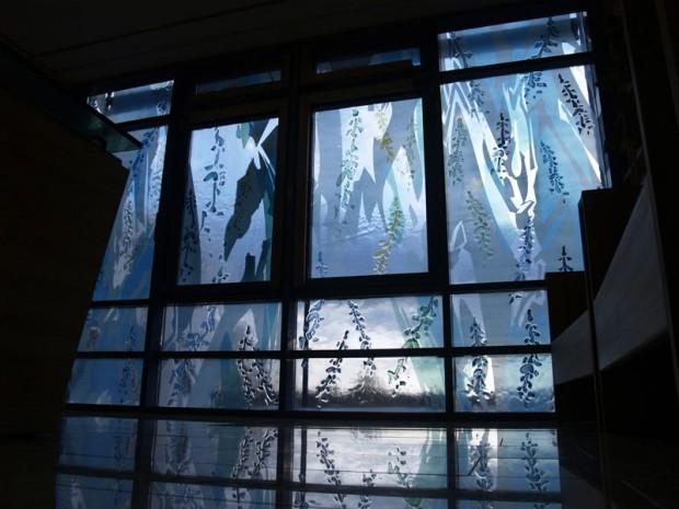 Klinikum Dessau 1 Glasfenstergestaltung