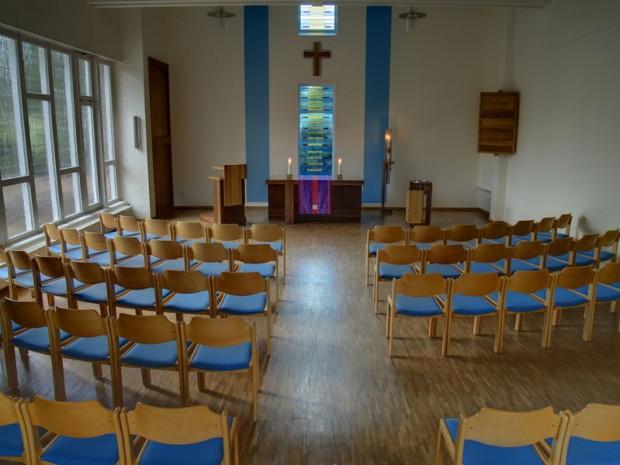Martin Luther Kirche Holm Seppensen 1 Kirchenraum