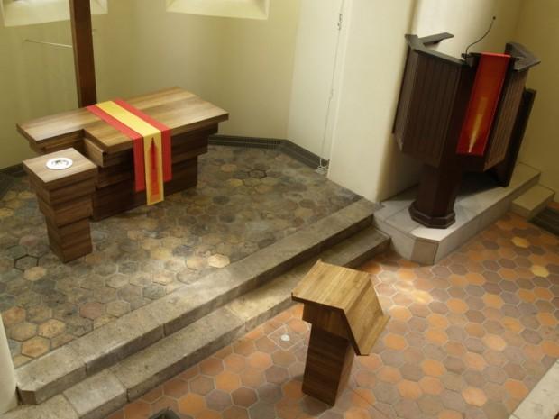 St.Michael Woltersdorf 1 Altarraum