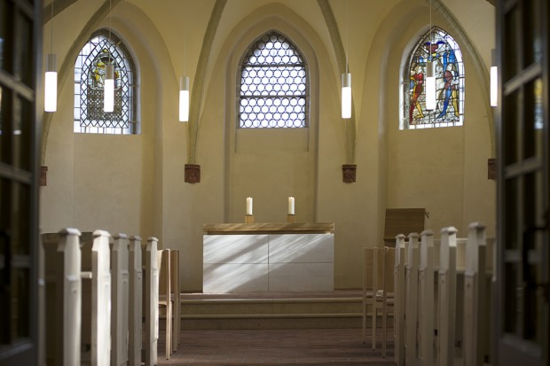 Kirchenraum Eingang