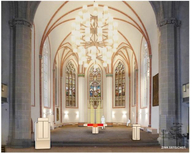 Altarraumansicht Johanniskirche Göttingen
