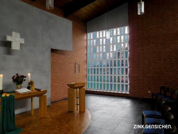 Kirche Kathus Fenster