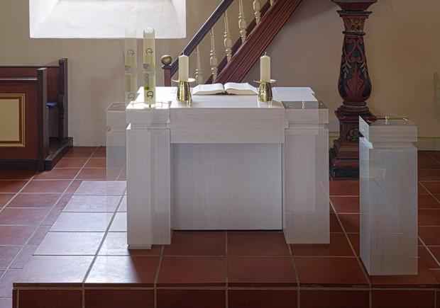Altar in Bewegung