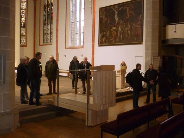 Übergabe Kanzel Johanniskirche Göttingen
