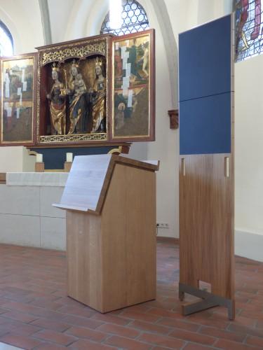 Stralau-Liedtafel+Pult+Altar