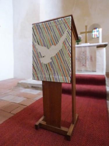 Kirche Landsberg Pultbehang